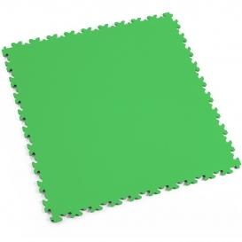 Pardoseala modulara PVC Fortelock Industry 7 mm Skin Verde deschis