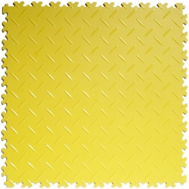 Pardoseala PVC Flexi-Tile Diamond 4mm Elite Galben