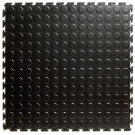 Pardoseala PVC Flexi-Tile Standard Studded 4.5mm Elite Negru