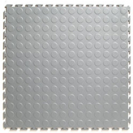 Pardoseala PVC Flexi-Tile Standard Studded 4.5mm Elite Gri deschis