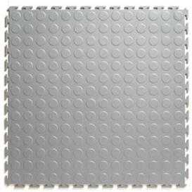 Pardoseala PVC Flexi-Tile Standard Studded 4.5mm Elite Gri deschis