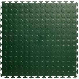 Pardoseala PVC Flexi-Tile Standard Studded 4.5mm Elite Verde