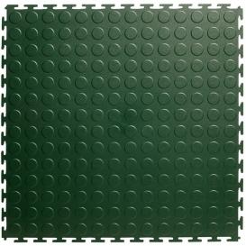 Pardoseala PVC Flexi-Tile Standard Studded 4.5mm Elite Verde