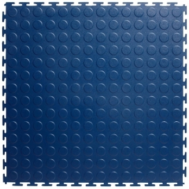 Pardoseala PVC Flexi-Tile Standard Studded 4.5mm Elite Albastru
