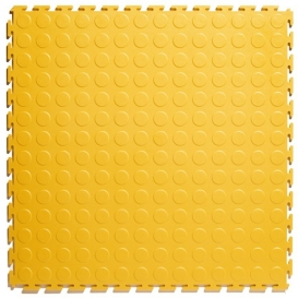 Pardoseala PVC Flexi-Tile Standard Studded 4.5mm Elite Galben
