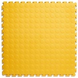 Pardoseala PVC Flexi-Tile Standard Studded 4.5mm Elite Galben