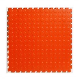 Pardoseala PVC Flexi-Tile Standard Studded 4.5mm Elite Rosu