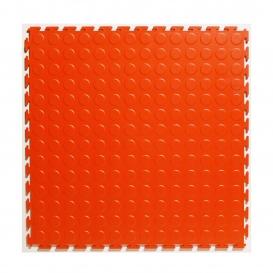 Pardoseala PVC Flexi-Tile Standard Studded 4.5mm Elite Rosu
