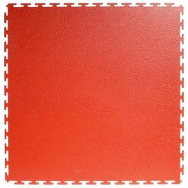 Pardoseala PVC Flexi-Tile Standard Textured 4.5mm Elite Rosu