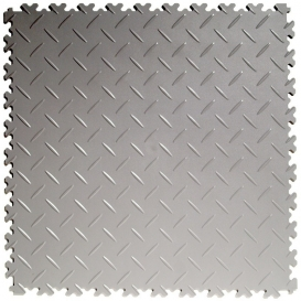 Pardoseala PVC Flexi-Tile Diamond Heavy Duty 7mm Elite Gri deschis