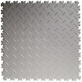 Pardoseala PVC Flexi-Tile Diamond Heavy Duty 7mm Elite Gri deschis