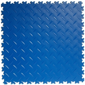 Pardoseala PVC Flexi-Tile Diamond Heavy Duty 7mm Elite Albastru