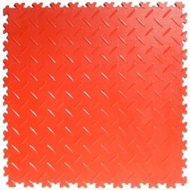 Pardoseala PVC Flexi-Tile Diamond Heavy Duty 7mm Elite Rosu