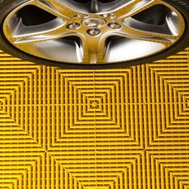 Pardoseala PP modulara Fonner Vents Sunwave yellow