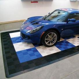 Pardoseala PP modulara Fonner Vents Paradise blue