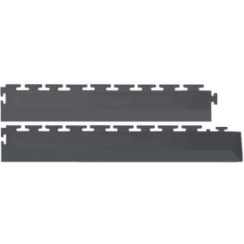 Margine/Rampa Flexi-Tile Gri inchis 4mm