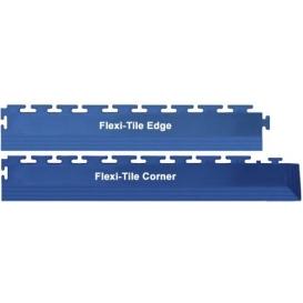 Margine/Rampa Flexi-Tile Albastru 4mm